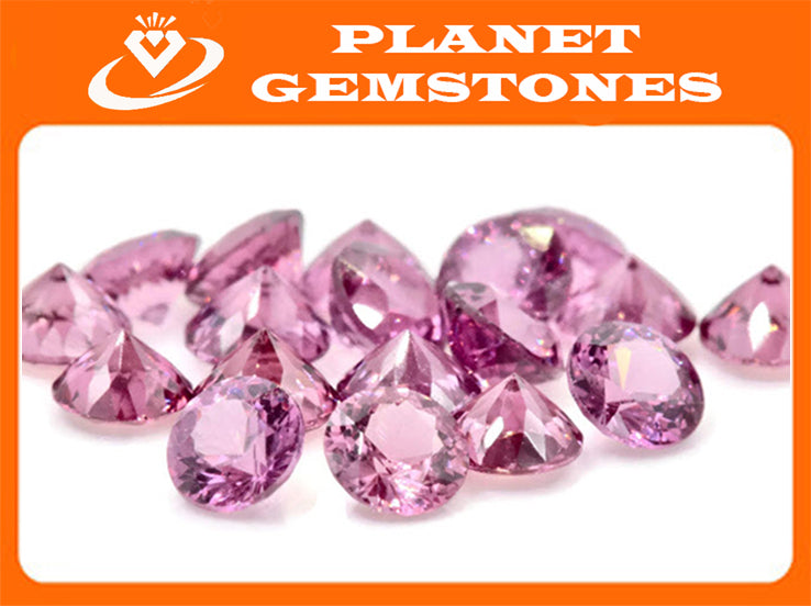 Natural Spinel Spinel Gemstone Genuine Spinel August birthstone Natural Pink spinel Round Spinel 1 stone 4.5mm 0.35ct Spinel Loose stone-Planet Gemstones