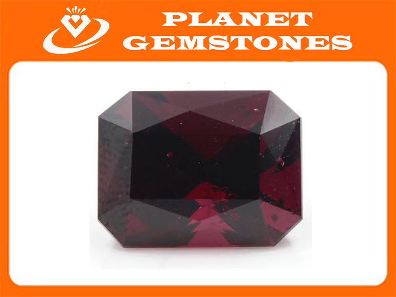 Garnet Natural Garnet Red Garnet January Birthstone Faceted Garnet loose gemstone Garnet Garnet 13.2x10mm Octagon 9.28ct OCT SKU:112933-Planet Gemstones