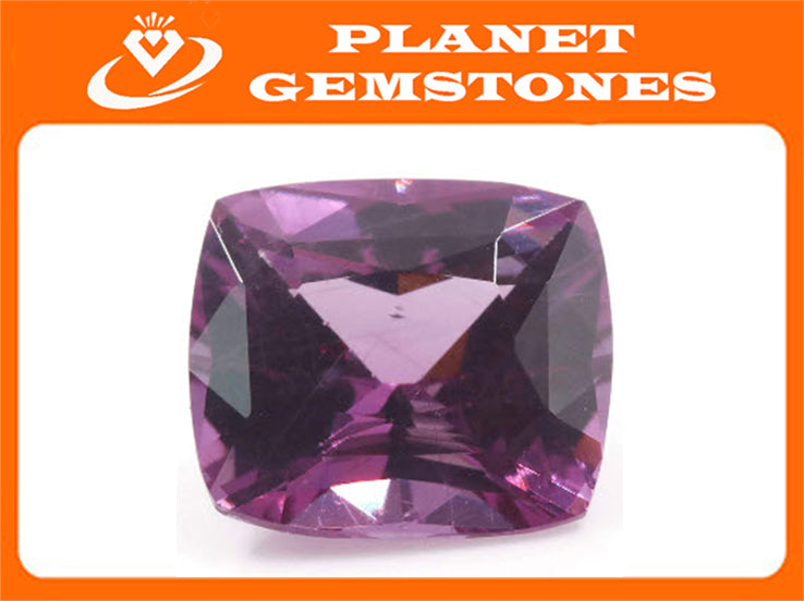 Natural Pink Sapphire 8mm 2.65ct September Birthstone Sapphire Gemstone DIY Jewelry Supply Sapphire Healing stone Pink sapphire-Planet Gemstones