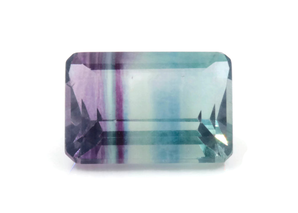 Natural Flourite Flourite Crystal Flourite Flourite Stone Bi-Colored Flourite 14x10mm OCT SKU: 114518 DIY Jewelry Supplies-Flourite-Planet Gemstones