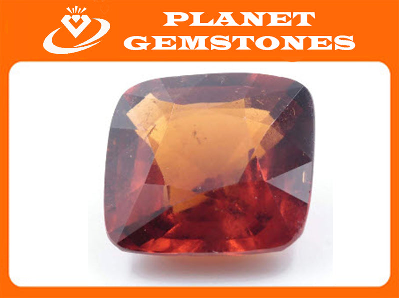 Spessartite | Natural Spessartite Garnet | Mandarin Spessartite Garnet | Orange Garnet | January Gemstone CUS 14mm 12.65ct SKU:112946-Planet Gemstones