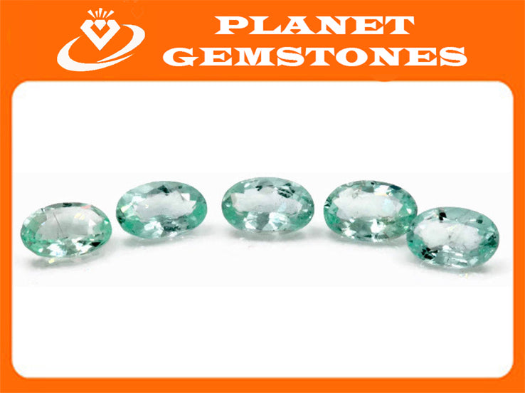 Natural Paraiba Tourmaline Green Tourmaline DIY Jewelry Supply Tourmaline October birthstone Paraiba Tourmaline OV 6X4mm-Tourmaline-Planet Gemstones