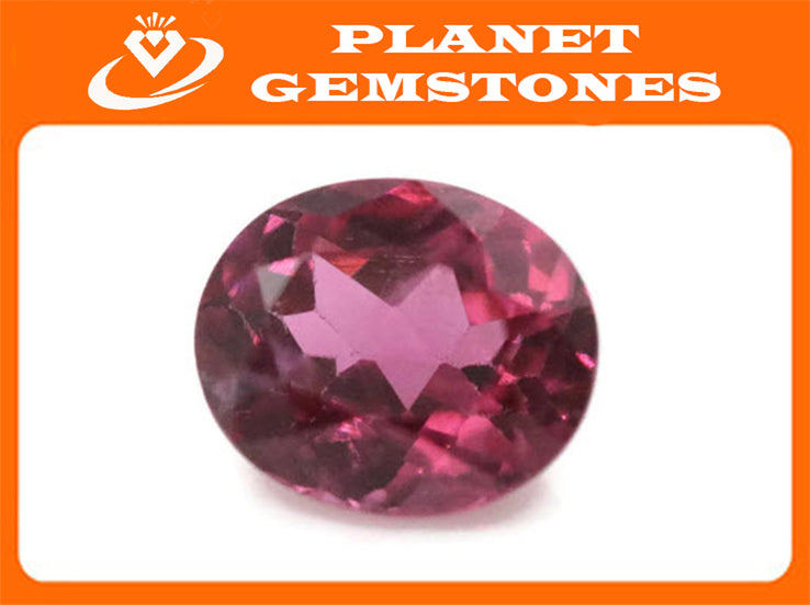 Natural Spinel Spinel Gemstone Genuine Spinel August birthstone Pink Spinel Red Spinel Spinel Oval Faceted Spinel loose stone 0.9ct 6x5mm-Planet Gemstones