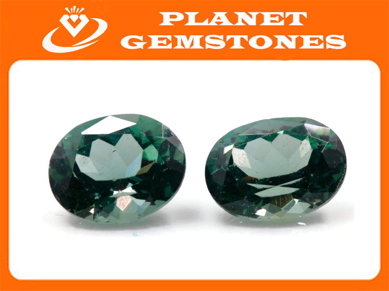 Natural Green Apatite Gemstone Apatite faceted loose stone Genuine Apatite stone Natural Apatite oval Apatite faceted stone 2.23ct 9x7mm-Planet Gemstones