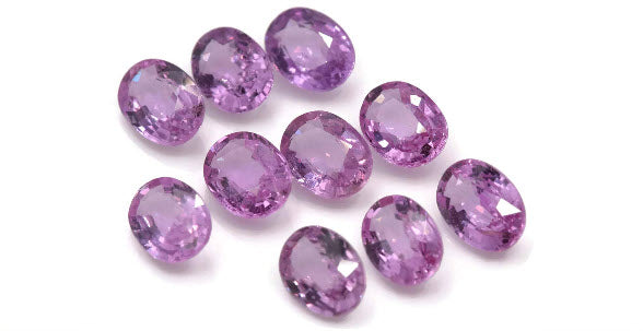 Natural Pink Sapphire 7x5mm 0.98ct September Birthstone Sapphire Gemstone DIY Jewelry Supply Sapphire healing stone Pink sapphire-Planet Gemstones
