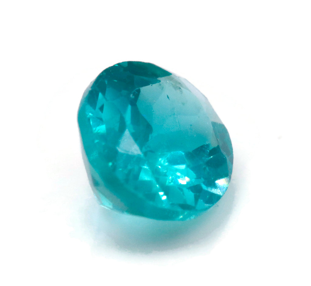 Natural Neon Apatite Gemstone Apatite faceted loose stone Genuine Apatite stone Natural Apatite OV Apatite stone 9x7mm 1.81cts SKU:114595-Apatite-Planet Gemstones