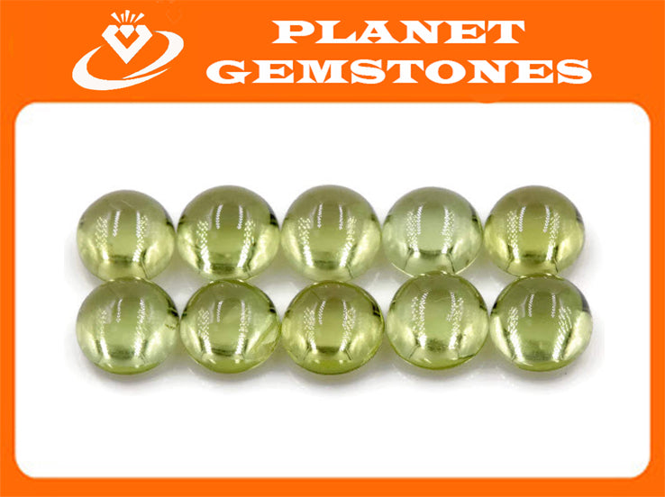 Peridot Natural Peridot Green Peridot Peridot Gemstone August Birthstone DIY Jewelry Supplies Peridot 5mm 0.79ct Gift for Her-Planet Gemstones