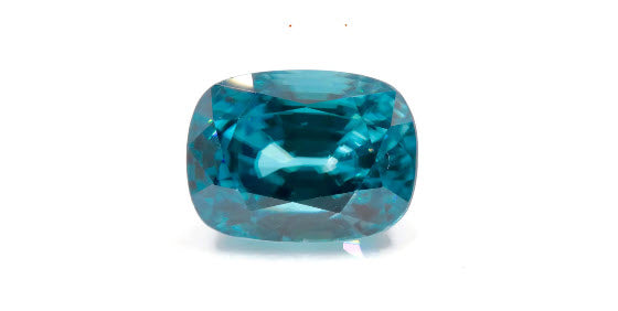 Natural Blue Zircon Cambolite Blue Zircon Natural Zircon December Birthstone Genuine Zircon Blue Zircon Stone 12.76ct 13x9.7mm-Planet Gemstones