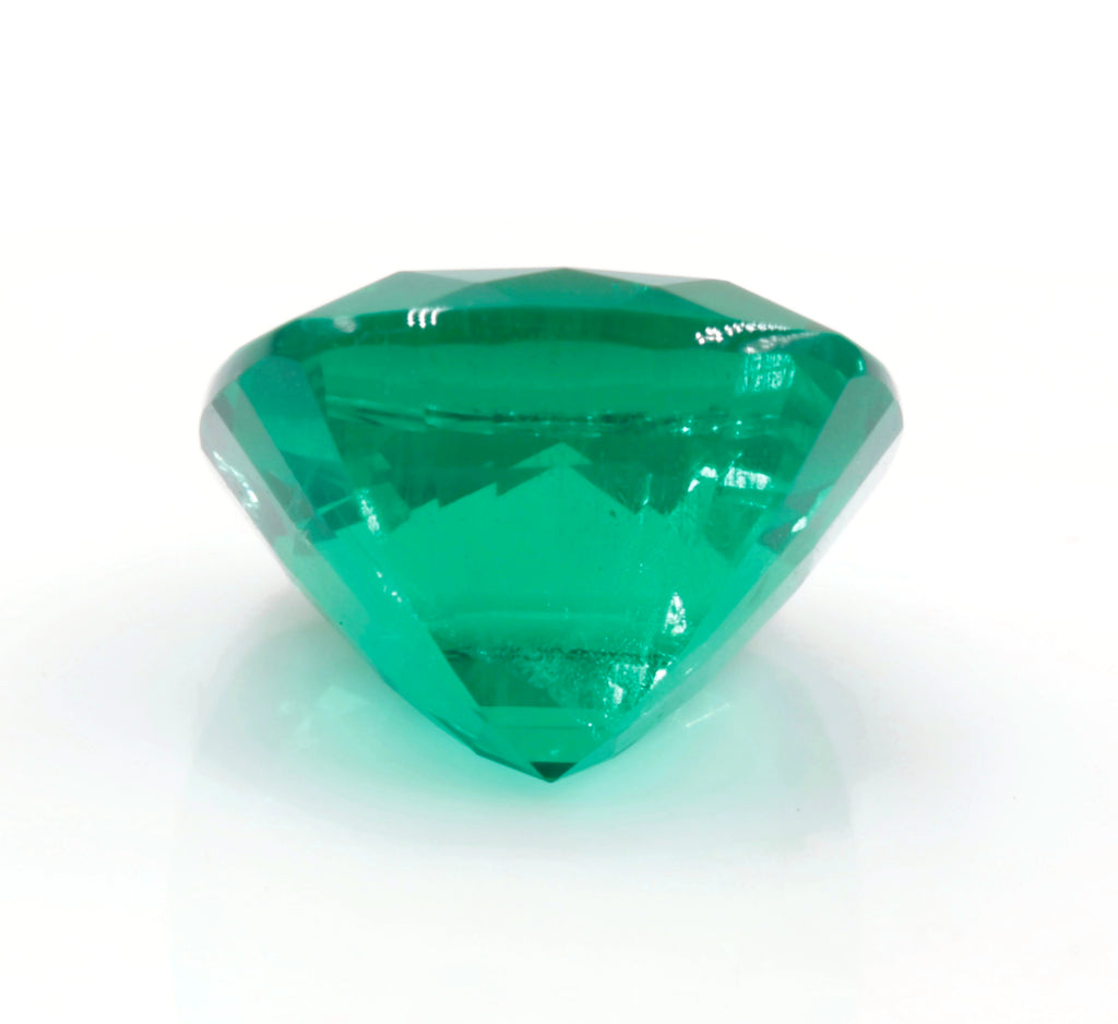 Natural Emerald Colombian Emerald May Birthstone Genuine Emerald Emerald Gemstone Emerald Green Emerald Cushion 7.5mm SKU:114536-Emerald-Planet Gemstones