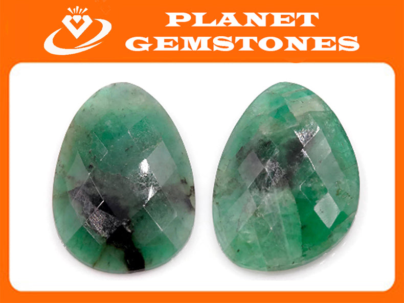 Emerald Natural Emerald May Birthstone Emerald Green Diy Jewelry Diy Jewelry Supplies Emerald 18x12mm 11.19ct DIY Jewelry Supplies-Emerald-Planet Gemstones