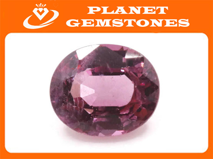 Natural Spinel Spinel Gemstone Genuine Spinel August birthstone Pink SPINEL Faceted Pink spinel Oval 6x5mm 0.81ct 0.84 ctSpinel Loose stone-Planet Gemstones