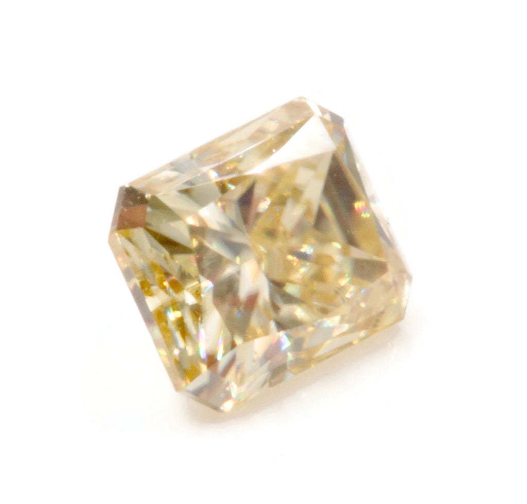 Yellow Moissanite Moissanite Gemstone Faceted Moissanite Loose Stone Radiant Cut Moissanite 7X5mm, 8X6mm SKU: 114495,114496-Moissanite-Planet Gemstones