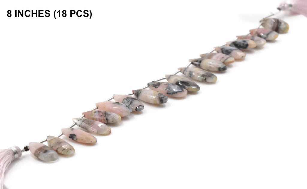 Amazing Bicolored Pink Opal, Pear shape, Natural Opal Loose Beads Pink Opal Beads Rare Quality Beautiful Item SKU:108540,108541-opal-Planet Gemstones