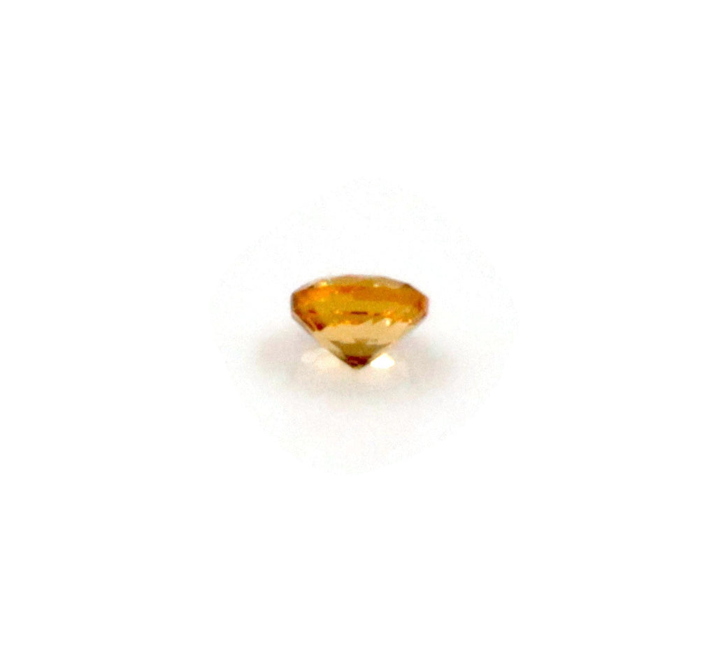Natural Citrine November Birthstone Citrine gemstone Citrine MELEE, Faceted Round 12PCS SET 1.5mm 0.20cts SKU:114649-CITRINE-Planet Gemstones