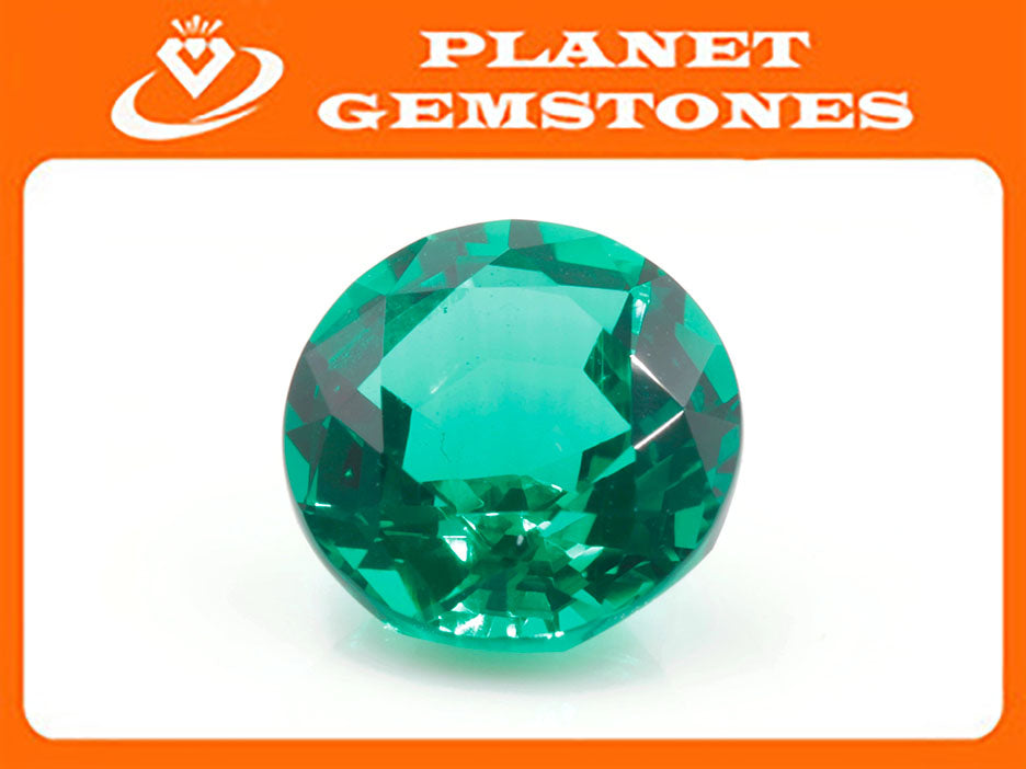 Natural Emerald Colombian Emerald May Birthstone Genuine Emerald Emerald Gemstone Emerald Green Emerald Round 8mm SKU:114546-Emerald-Planet Gemstones