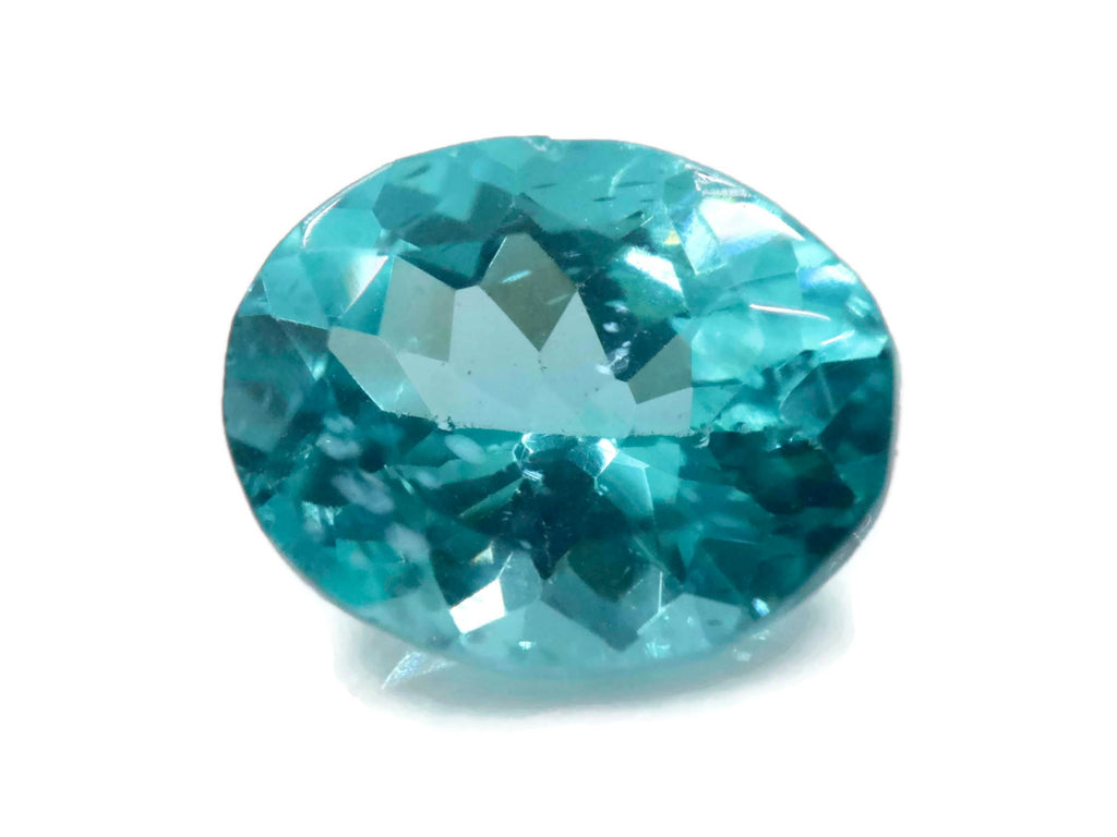 Natural Apatite Neon Apatite Blue Apatite Apatite Gemstone Apatite faceted Genuine Apatite stone DIY Apatite faceted Oval 3.19ct 11x9mm-Planet Gemstones