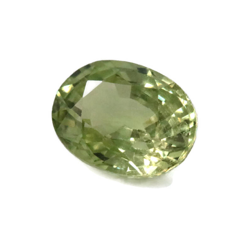 Natural Grossular Garnet January Gemstone January Birthstone Green Garnet 8x6mm Grossular Garnet Loose Stone SKU:00104312-Planet Gemstones