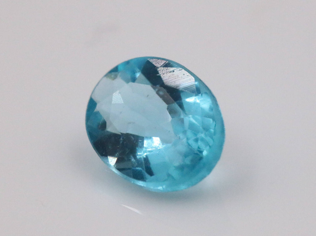 Natural Neon Apatite Gemstone Apatite faceted loose stone Genuine Apatite stone Natural Apatite oval Apatite faceted Apatite stone 8x6mm-Planet Gemstones