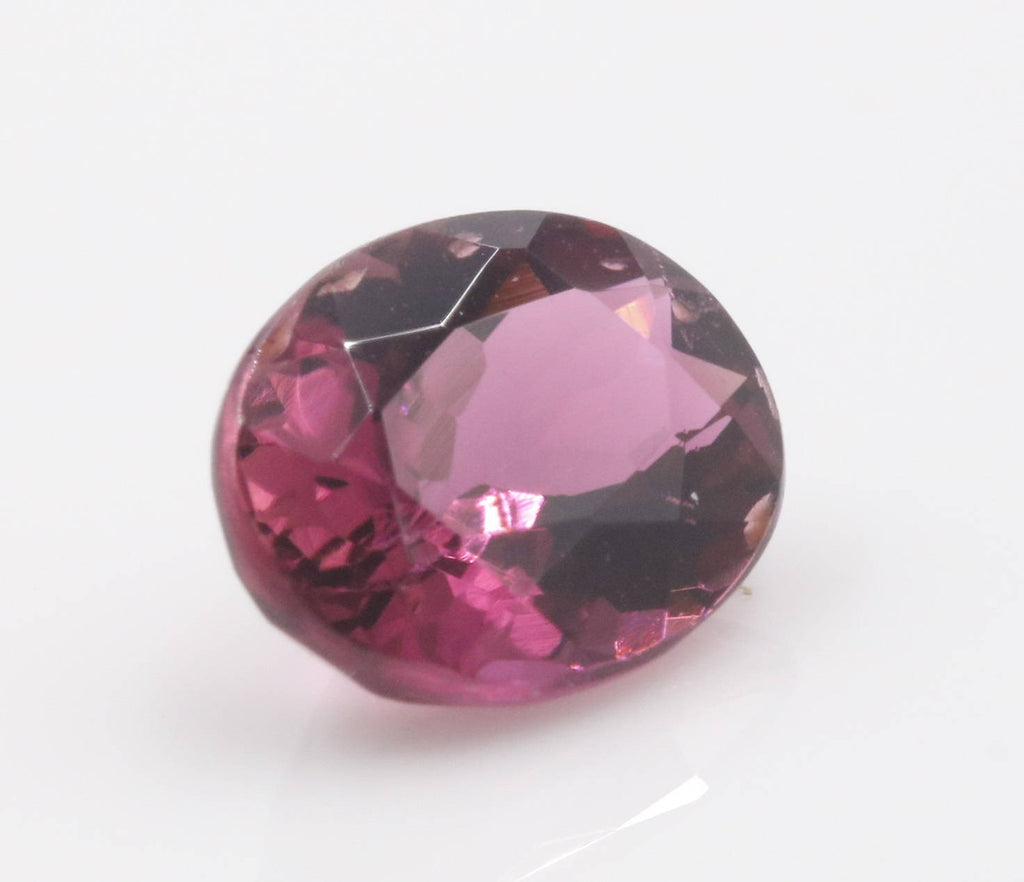Natural Pink Sapphire 7x6mm 1.05ct September Birthstone Sapphire Gemstone DIY Jewelry Supply Sapphire healing stone Pink sapphire-Planet Gemstones
