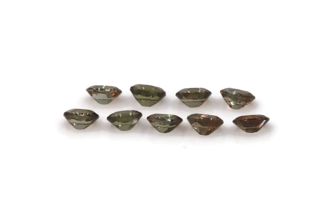 Natural Andalusite Andalusite Gemstone Genuine Andalusite Poor Man Alexandrite Faceted Andalusite DIY Andalusite Faceted Oval 4x3mm 1.24ct-Planet Gemstones