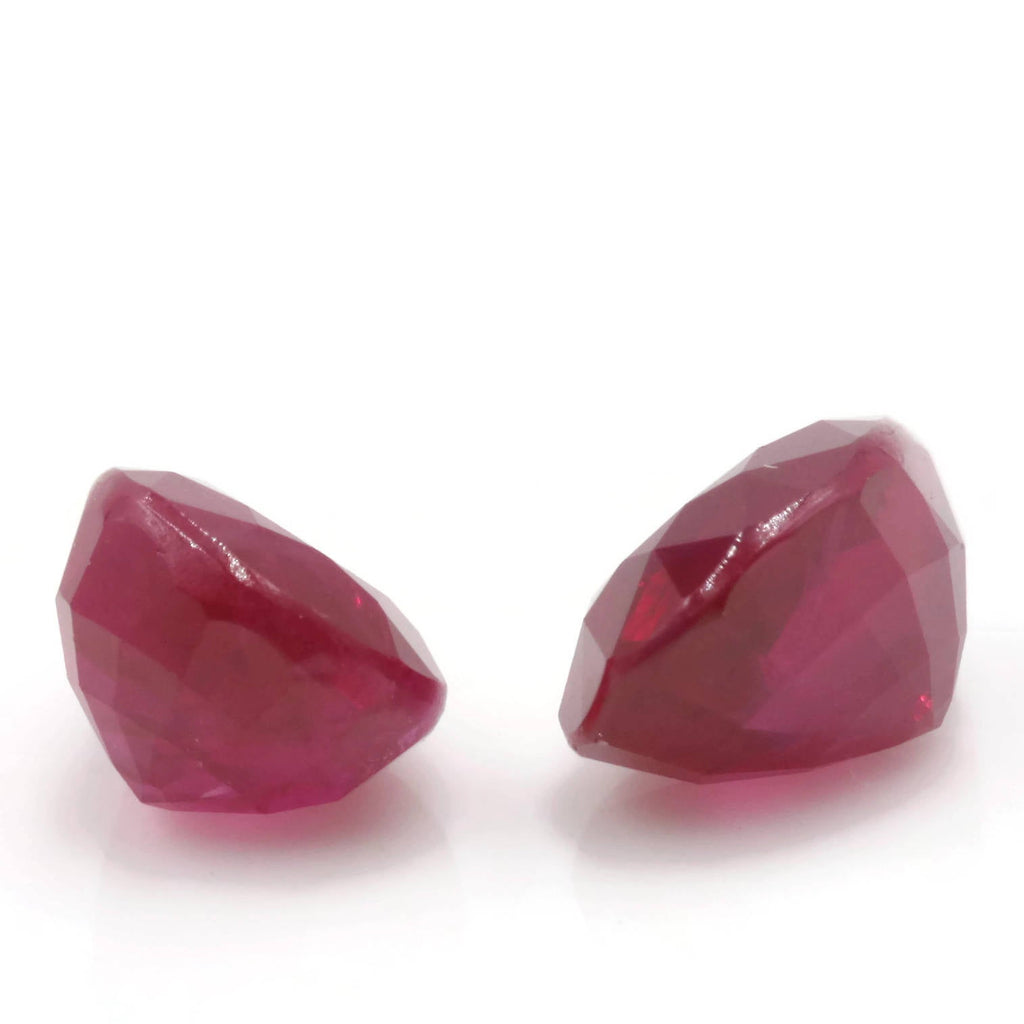Natural Ruby Ruby Gemstone DIY Jewelry Ruby Loose Stone July Birthstone Ruby Natural Ruby Gemstone Faceted Genuine Ruby 7x5mm 2.38ct-Ruby-Planet Gemstones