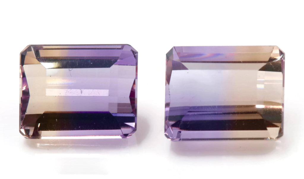 natural ametrine gemstone/top quality faceted ametrine loose stone/genuine ametrine for jewelry/ametrine gem stone 9x11mm-Planet Gemstones
