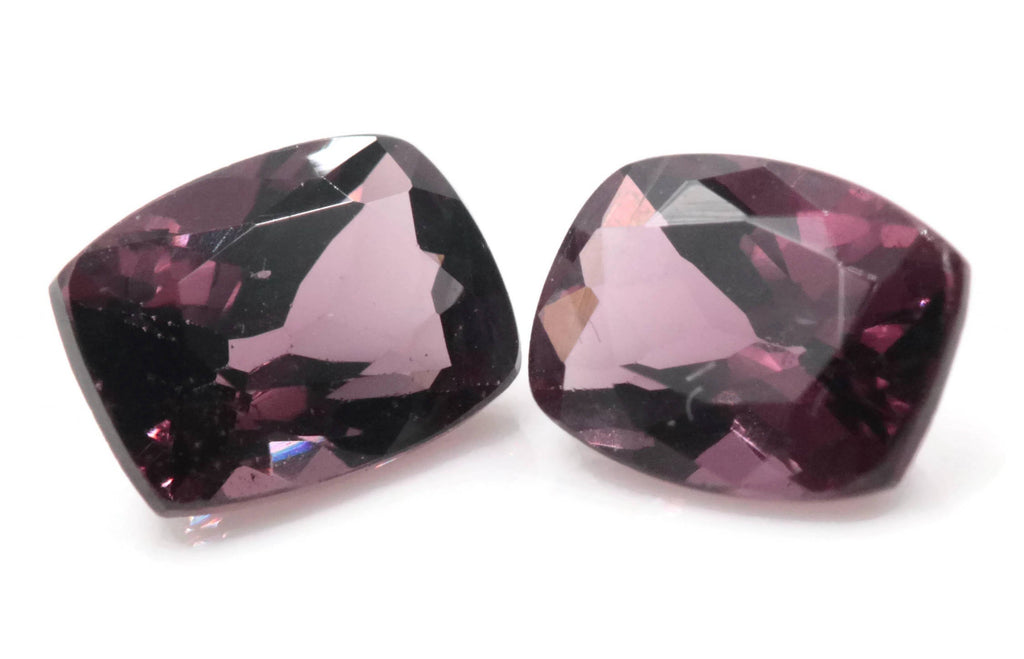 Natural Spinel Spinel Gemstone Genuine Spinel August birthstone Natural Lavender SPINEL 7x5mm Spinel Cushion 2.29ct Spinel Loose stone-Planet Gemstones