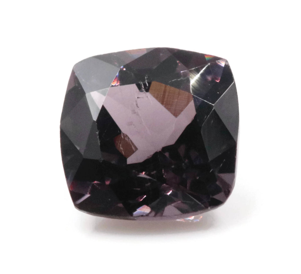 Natural Spinel Spinel Gemstone Genuine Spinel August birthstone Lavender SPINEL Faceted Spinel Cushion 6mm 1.19ct Spinel Loose stone-Planet Gemstones