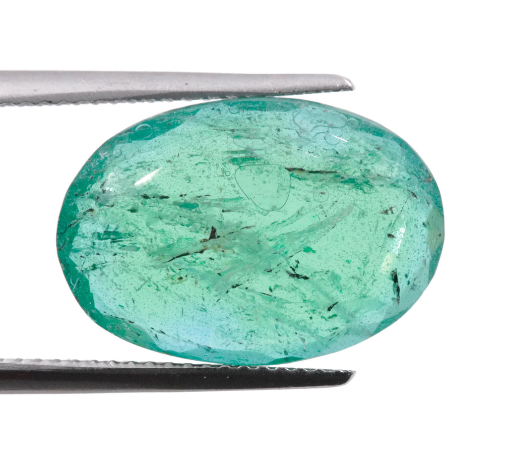 Emerald Dublet Natural Emerald May Birthstone Zambian Emerald Pear Emerald Gemstone Diy Jewelry Supplies 7.88ct 18x12mm Emerald Green-Emerald-Planet Gemstones