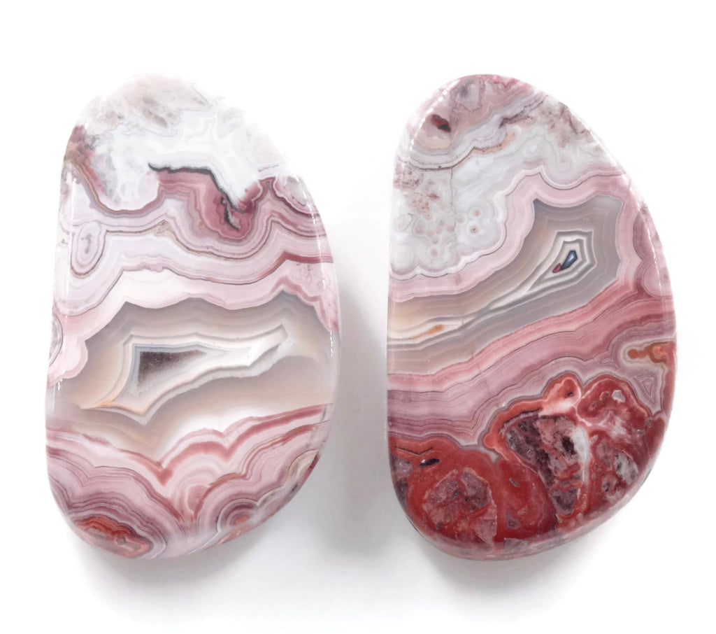 Agate Natural agate Agate Rose cut gemstone agate cab Agate DIY Jewelry Supply AGATE Chalcedony 27x16mm landscape agate-Planet Gemstones