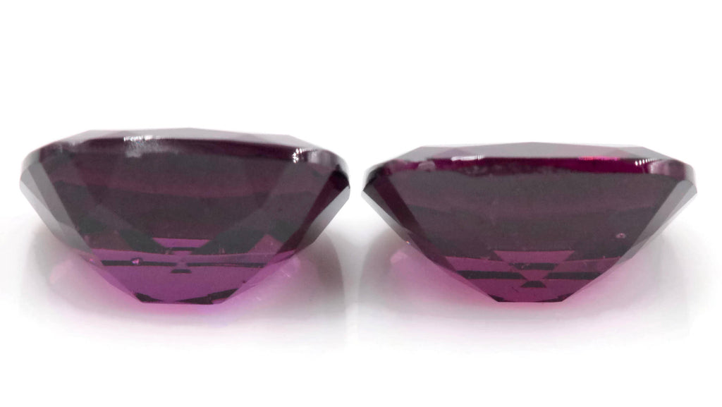 Purple Garnet Natural Garnet January Birthstone Rhodolite Garnet gemstone Mozambique Garnet Faceted Cushion 9x7mm 5.4ct-Planet Gemstones