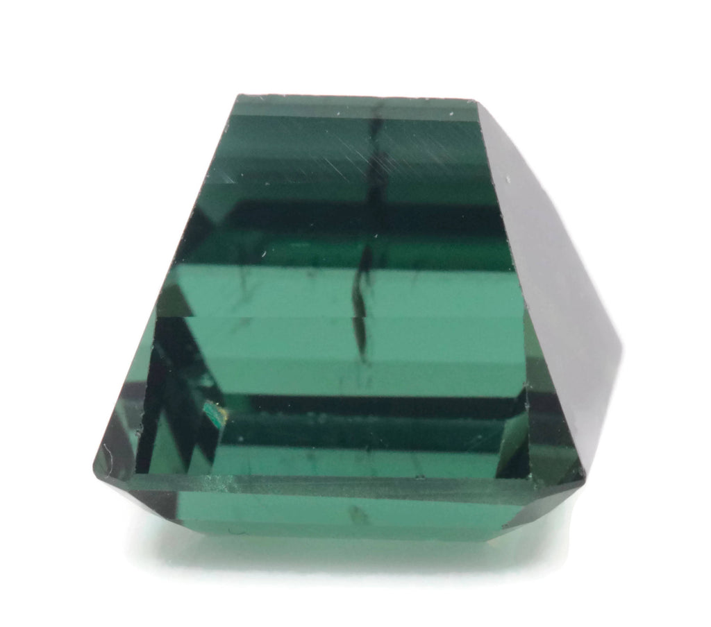 Natural Tourmaline Green Tourmaline DIY Jewelry Supply Tourmaline October birthstone Black Tourmaline Tourmaline 9.52ct 11x9.8mm-Tourmaline-Planet Gemstones