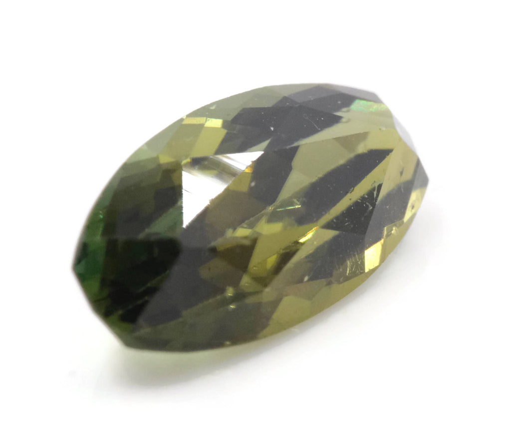 Natural Tourmaline Green Tourmaline DIY Jewelry Supply Tourmaline October birthstone Black Tourmaline Tourmaline Green 3.21ct 14x6mm-Tourmaline-Planet Gemstones