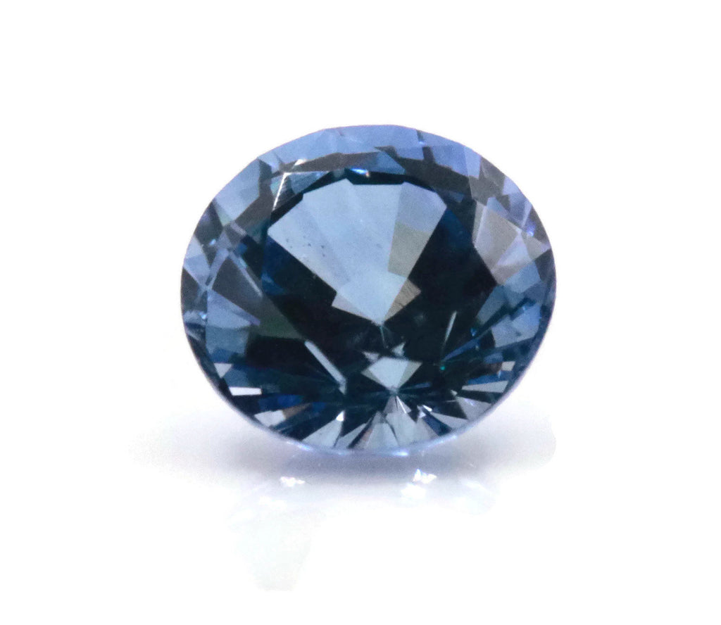 Blue Sapphire 0.34ct 4mm RD Sapphire Gemstone Genuine Sapphire for Sapphire Jewelry loose sapphire Birthstone wedding engagement gift-Planet Gemstones