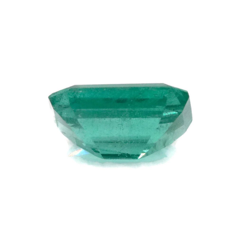 Emerald Natural Emerald May Birthstone Zambian Emerald Octagon Emerald Diy Jewelry Supplies Emerald Gemstone 1.06ct 7x5mm emerald-Emerald-Planet Gemstones