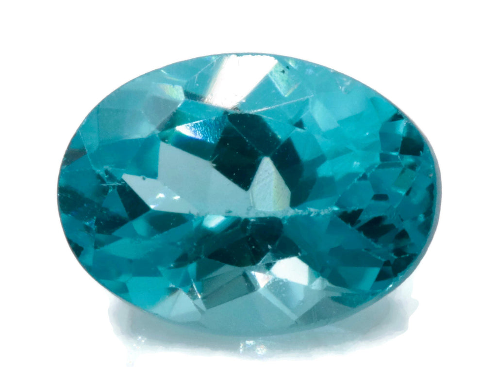 Natural Neon Apatite Gemstone Apatite faceted loose stone Genuine Apatite stone Natural Apatite oval Apatite stone apatite oval 7x5mm 0.80c-Planet Gemstones