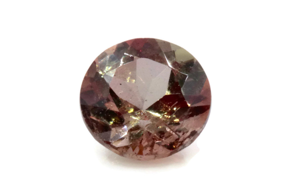 Natural Andalusite Andalusite Gemstone Genuine Andalusite Poor Man Alexandrite Faceted Andalusite DIY ANDALUSITE Faceted Round 5mm 0.49ct-Planet Gemstones