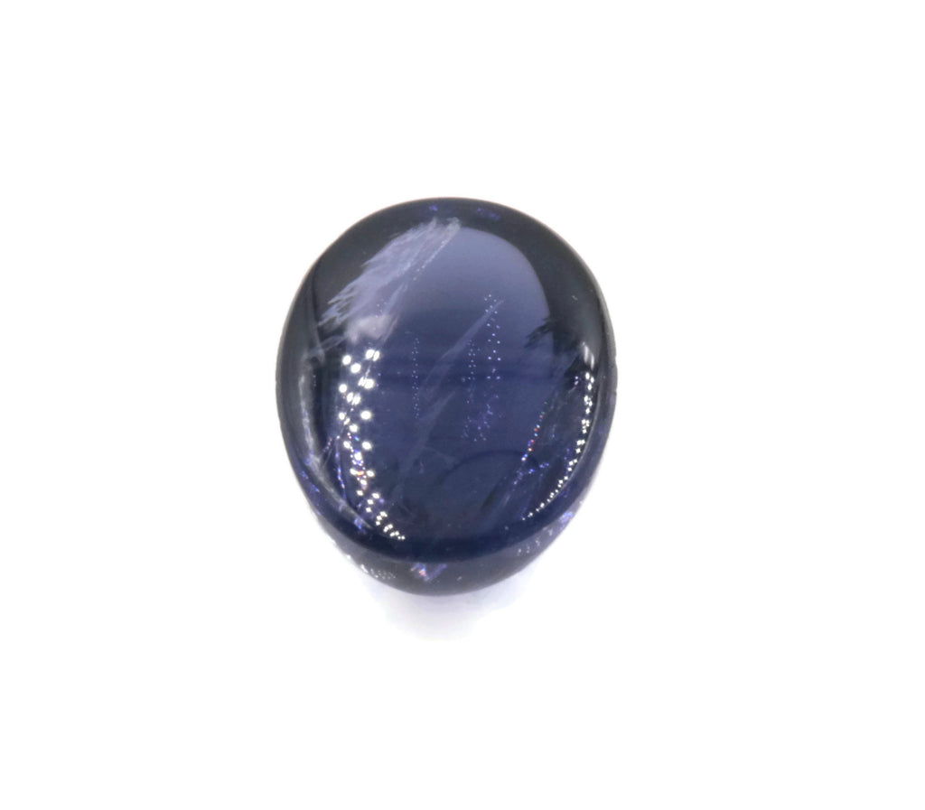 Natural Iolite Gemstone Cabochon Iolite Stone Iolite Loose Round Iolite Vettrigemsusa Oval Cabochon IOLITE lot 5, 8x6mm, 1.10ct-Planet Gemstones