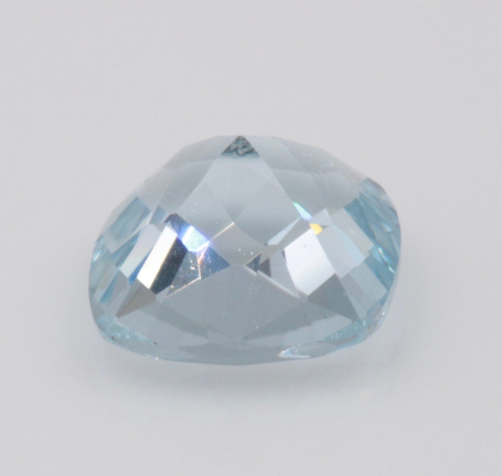 Aquamarine Natural Aquamarine March Birthstone DIY Jewelry Supplies Aquamarine Gemstone Blue Aquamarine Genuine Aquamarine 5mm 0.41 ct-Aquamarine-Planet Gemstones