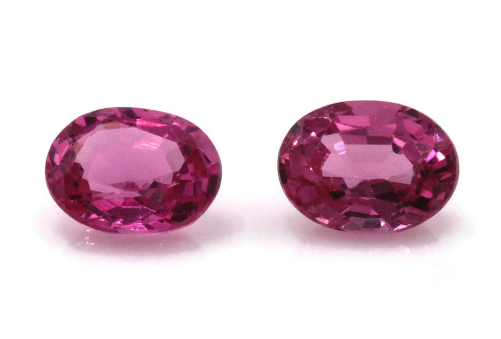 Natural Spinel Spinel Gemstone Genuine Spinel August birthstone Natural Pink spinel oval Spinel 1 stone 3.5x4.5mm 0.69ct Spinel Loose-Planet Gemstones