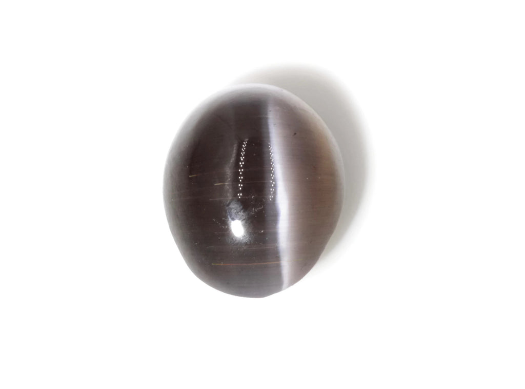 Natural Sillimanite Cats Eye Gemstone sillimanite genuine sillimanite sillimanite stone DIY Sillimanite Cats Eye OV 9x7mm, 2.30ct-Planet Gemstones