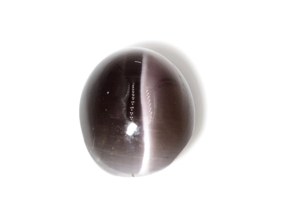 Natural Sillimanite Cats Eye Gemstone sillimanite genuine sillimanite sillimanite stone DIY Sillimanite Cats Eye OV 10x8mm, 3.50ct-Planet Gemstones