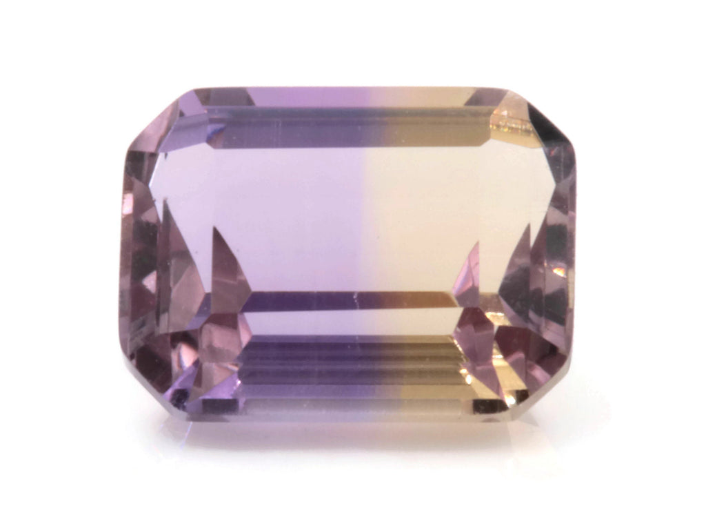 Natural ametrine gemstone/ Faceted ametrine loose stone/genuine ametrine for jewelry/ametrine gem stone 9x7mm, 2.30ct DIY Jewelry Supplies-Planet Gemstones