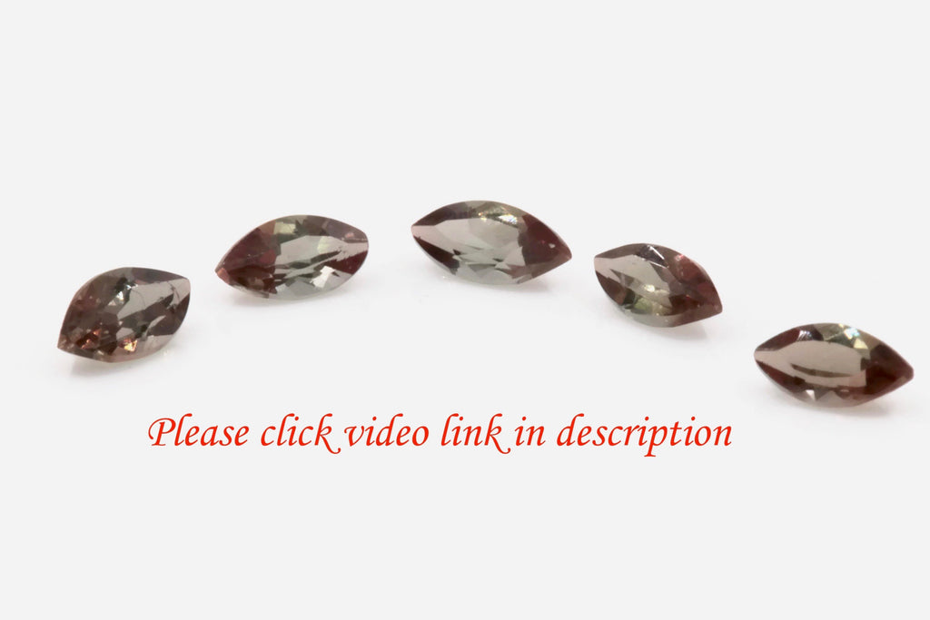 Natural Andalusite Andalusite Gemstone Genuine Andalusite Poor Man Alexandrite Faceted Andalusite DIY ANDALUSITE Faceted 4x2mm 0.4ct-Planet Gemstones