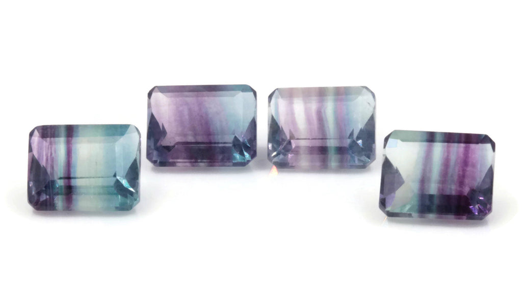 Natural Flourite Flourite Crystal Flourite Flourite Stone Blue Flourite 10x8mm Oval SKU:00111122 DIY Jewelry Supplies-Planet Gemstones
