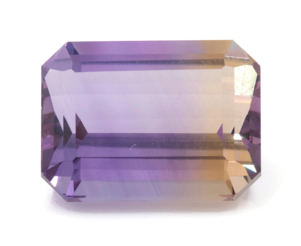 natural ametrine gemstone/top quality faceted ametrine loose stone/genuine ametrine for jewelry/ametrine gem stone 16x12mm 13.32ct-Planet Gemstones