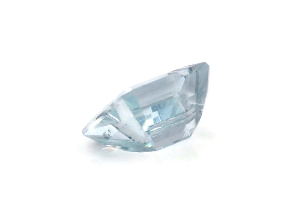 Aquamarine Natural Aquamarine March Birthstone DIY Jewelry Supplies Aquamarine Gemstone Blue Aquamarine Genuine Aquamarine 9x7mm 1.90 ct-Aquamarine-Planet Gemstones