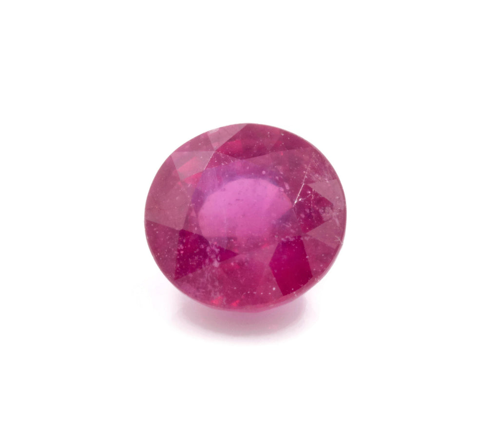 Natural Ruby Ruby Gemstone DIY Jewelry Ruby Loose Stone July Birthstone Ruby Natural Gemstone Genuine Ruby Ruby Round 2.5ct 8mm-Ruby-Planet Gemstones
