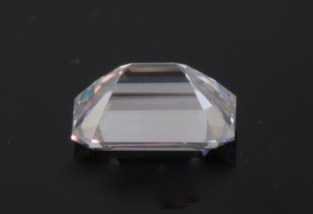 Moissanite Gemstone for wedding ring diamond alternative moissanite DIY jewelry supplies Moissanite Forever one 8x6mm 1.60ct-Planet Gemstones