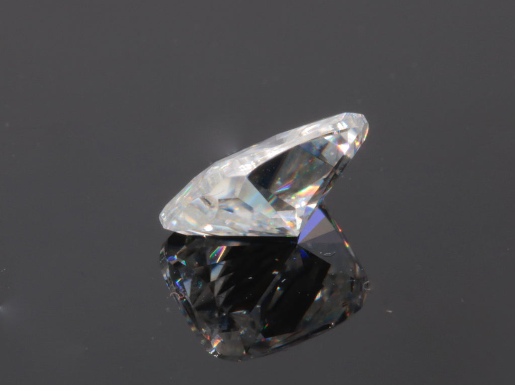 Moissanite Gemstone for wedding ring diamond alternative moissanite DIY jewelry supplies Moissanite Forever one 7x5mm 0.75ct-Planet Gemstones